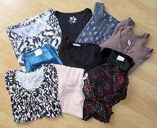 Ladies Bulk Joblot Of Used Clothing Tops High Street Brands UK Size 14 - 18