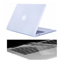 "Colorful Rubberized Matte HardCase+ Keyboard Cover For Macbook White 13"" A1342"
