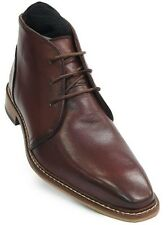 Giorgio Brutini Men Rust Chukka Leather Business Lace Up Ankle Trendy Dress Boot