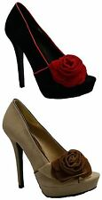 Womens Stunning Designer High Heel Peep Toe Sandals Evening Party Shoe Size