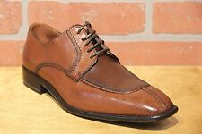 Calzoleria Toscana Men's Oxford Mahogany Leather Dress Shoe Made in Italy 3796