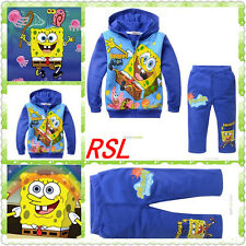 Cartoon sweat color blue sponge baby printing cashmere with two sets of cashmere