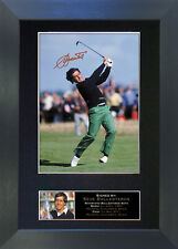 SEVE BALLESTEROS Signed Mounted Autograph Photo Prints A4 53