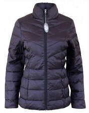 Fab Black Puffa Padded Jacket Coat Size 8 10 12 14 16 18 20 22
