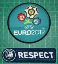 Euro 2012 Patches Uefa Respect Soccer Jersey Badges Football Patch Set Toppa
