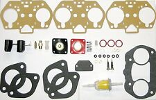PAIR WEBER 40-44-48 IDF CARB REBUILD-OVERHAUL KITS WITH FLOAT HPMX 40 - 44
