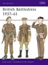 British Battledress, 1937-61 by Mike Chappell Paperback Book