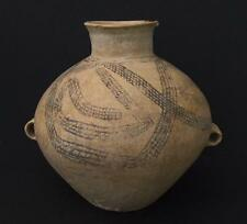 Ancient Chinese Neolithic Yangshao Culture Pottery Amphora/Jar Circa 3000 B.C