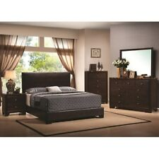 Contemporary Upholstered Low-Profile Bed in all Sizes!!!-FREE SHIPPING!!!