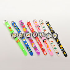New Cute Cat Silicone Cartoon Wrist Watch For Kids Children Boys Girls NEW NIUK