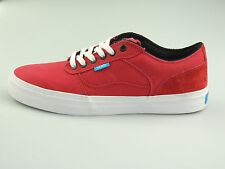Vans Bedford Low Red/White Unisex Men's Shoes Sneakers Shoes Authentic Red