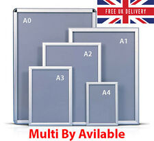 A1A2A3A4 SNAP FRAME PICTURE POSTER HOLDERS DISPLAY RETAIL SHOP WALL NOTICE BOARD