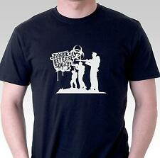 Funny t shirt Zombie defense squad apocolypse survival undead mens womens gift