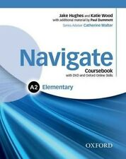 Navigate Elementary A2 Coursebook w/ DVD, e-Book, OOSP, OOLP & English for Work