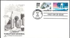WWII MEMORIAL Stamp 3862 Battle of the Bulge Combination First Day Cover FDC