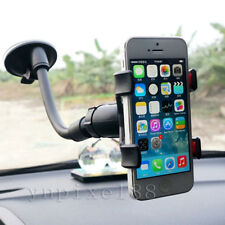 360° Rotate Car Windshield Mount Holder Stand Cradle Bracket For CellPhone & GPS