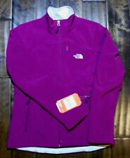 NEW Authentic THE NORTH FACE Womens Purple Apex Bionic Softshell Ski Jacket, TNF