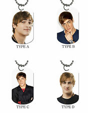 New Big Time Rush Rush Kendall Schmidt Photo Dog Tag Necklace
