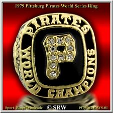 1979 Pittsburgh Pirates World Series Championship Ring Sz-11 Wooden Box from USA