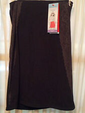 Spanx-Size-XL-Luxe-Lean-Half-Slip-Assets-Red-Hot-Label-Super-Slimming-Shapers