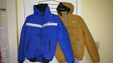 Nike Winter Jacket with detachable hood and sleeves w/zipper and pockets Size XL