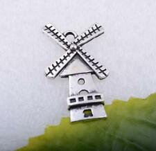 Wholesale 5pcs/10pcs/50pcs tibet silver beautiful windmill charms pendant #A5197