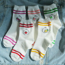Molang korea Charater Fashion Women Casual Cute color Socks - color