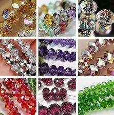 2016 Wholesale New Multicolor Swarovski Crystal Loose Beads 6x8mm / 4x6mm
