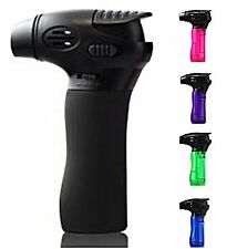4 PACK Windproof Butane Jet Torch Gun Lighter Adjustable Power Flame Refillable