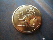 ANTIQUE LIVERY BUTTON:  GREAT FIGURING. G&H BULLIVANT. LARGE BRASS..