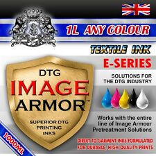 1L ANY CMYK WHITE IMAGE ARMOR INK DIRECT TO GARMENT DTG TEXTILE PRINTER INK