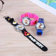 Watch cartoons Angry birds a perfect gift for girls and boys Children's Watches