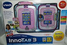 VTech InnoTab 3 Learning Tablet with Gel Case and Cartridge - Pink
