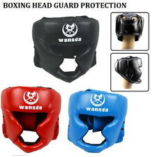 Boxing Head Ear Guard Kick Guard Protection Helmet MMA UFC Training Protective