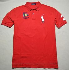 NWT MEN POLO RALPH LAUREN YACHT CLUB CLASSIC FIT RUGBY POLO SHIRT SZ XLARGE