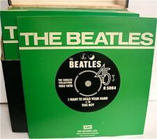 "Beatles Singles Collection 1962 - 1970 7"" Vinyl 45RPM Parlophone Records List 1"