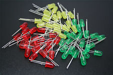 1000PCS 2pin 3MM/5MM Round High Power Super Bright LED Light Emitting Lamp Diode