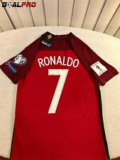 2016 Ronaldo Portugal Home Soccer Jersey Kit 2018 Russia World Cup Qualifiers