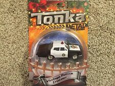 NEW TONKA 2015 HOLIDAY VINTAGE POLICE CRUISER METAL DIECAST BODIES
