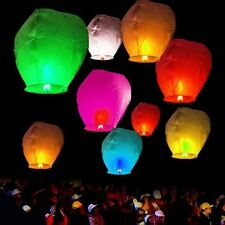 New Sky Lanterns Chinese Paper Sky Fire Candle Wish Wedding Flying Party Lamp