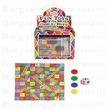 Mini Snakes and Ladders game party bag fillers loot bag pocket money toys
