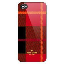 KATE SPADE Red Pattern Inspirate Print On Hard Plastic CASE COVER For iPhone 7