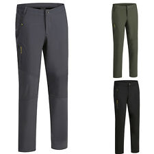 New Winter Outdoor Warm Pants Men Waterproof Climbing Hiking Soft shell Trousers