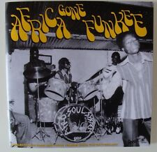 """Africa Gone Funkee - 3x7"""" + 24 pages Booklet - Killer Afro Funk Psych-45rpm -NEW"""