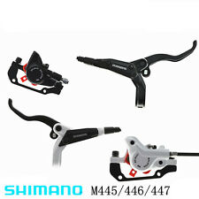 SHIMANO BL-M445 / BR-M447 Hydraulic Disc Brake Set Front and Rear Black