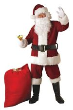 Santa Suit Plus Deluxe Suit - Christmas