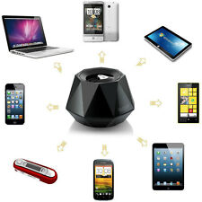 Portable High-end Stereo Diamond Bluetooth Wireless Small Speaker with Built-in