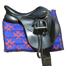 Snuggy Hoods Padded Saddle Pad / Numnah/ Polypad -  2 Sizes -  8 Colours