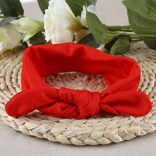 Cute Girl Child Baby Bowknot Animal Headband Rabbit Ear Shape Elastic Hair Band