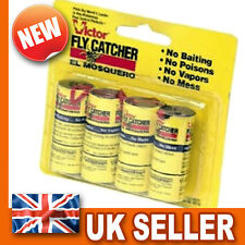 Fly Trap Sticky Paper Trap Catcher - Flying Insect Wasp Killer - Fruit Pest